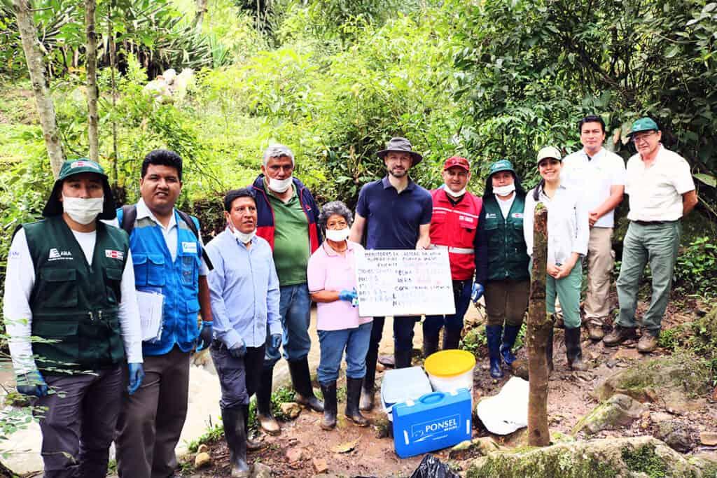 Trabajo con la comunidad en la cuenca del río Mayo